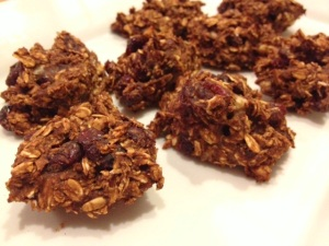 Cranberry & Cacao Oat Clusters